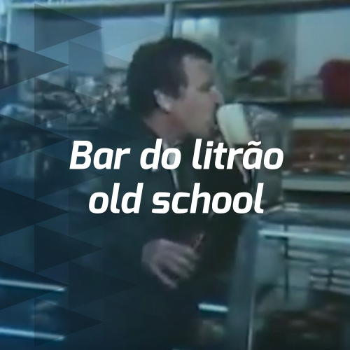 Bar do litrão old school